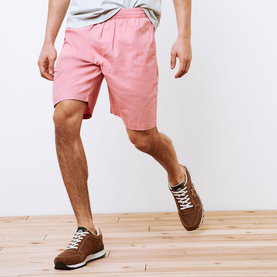 Roots-Men Bottoms-Campbell Hemp Shorts-Sunset Apricot-A