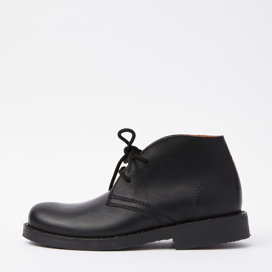 Roots-Shoes Boots-Womens Chukka Boot Raging Bull-Black-A