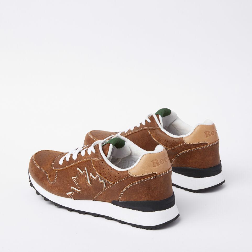 Roots-undefined-Chaussures de course Trans-Canadian en cuir Tribe pour hommes-undefined-D