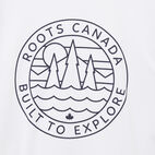 Roots-undefined-T-shirt Contrastant True North-undefined-C