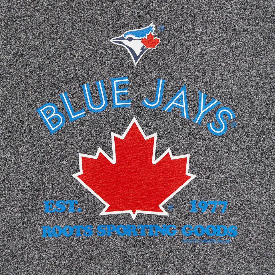 Roots-undefined-T-shirt à col contrastant Blue JaysMC Ballpark pour hommes-undefined-C