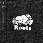 Roots-undefined-Tout-Petits Chandail Capuchon À Glissière Poivre Original-undefined-C