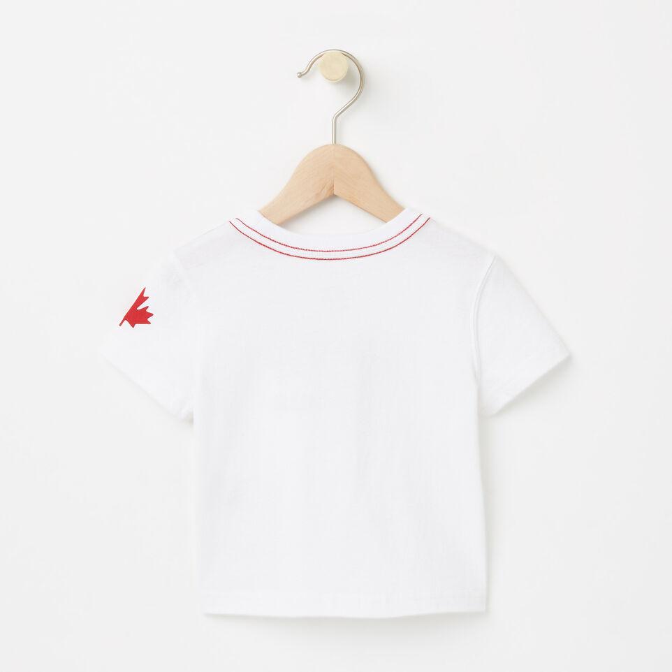 Roots-undefined-Bébés T-shirt Canada Cuivre-undefined-B