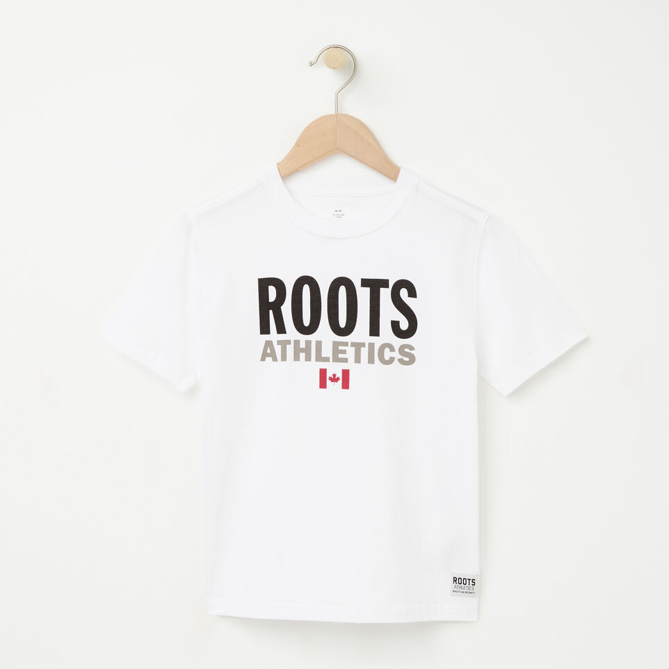 Roots-undefined-Garçons Réédition T-shirt Roots-undefined-A