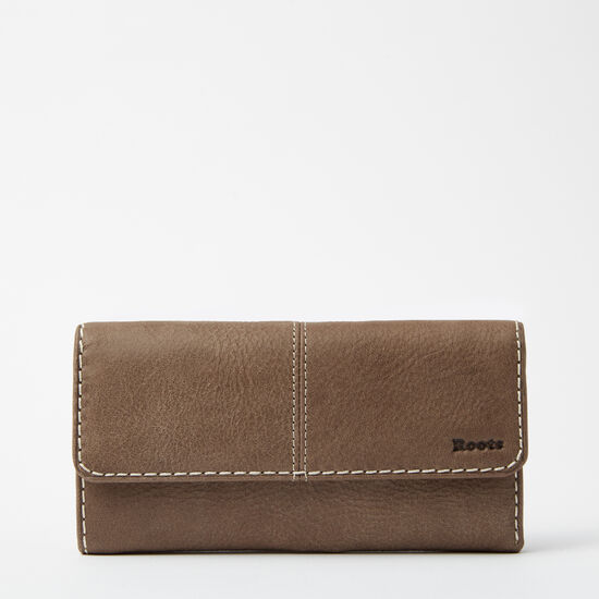 Roots - Medium Trifold Clutch Tribe