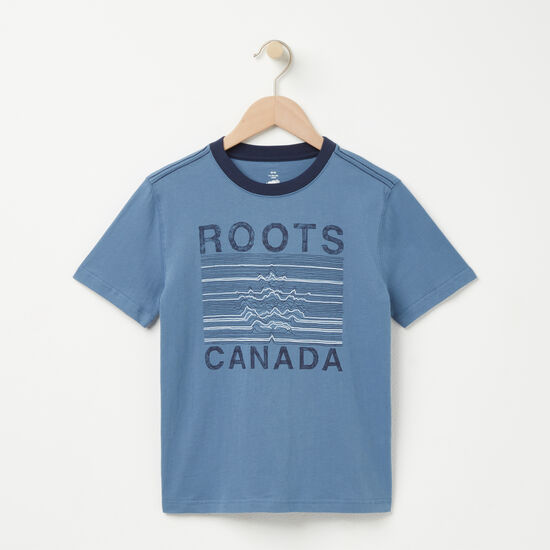 Boys Roots Maple T-shirt