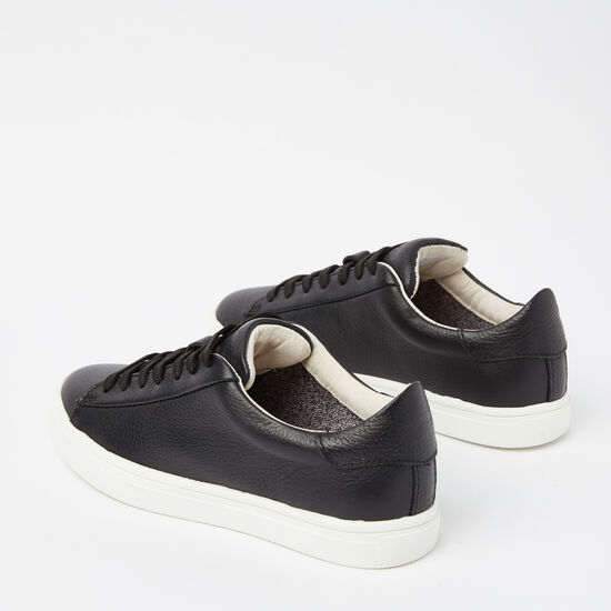 Womens Lace Up Sneaker Leather