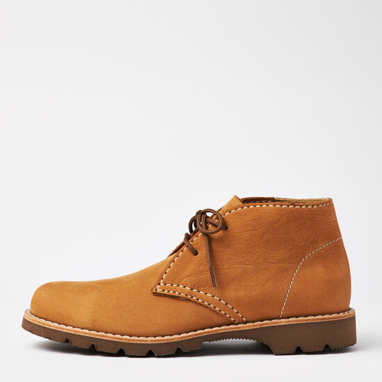 Roots-Shoes Men's Shoes-Bud Boot Waterbuck-Honey-A