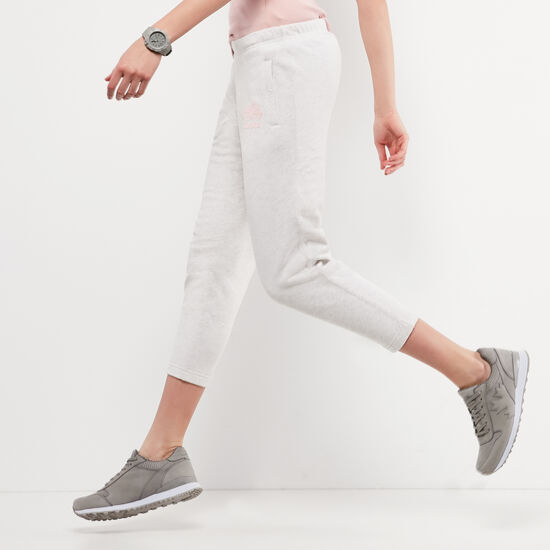 Roots-Women Slim Sweatpants-Original Ankle Sweatpant-White Mix-A