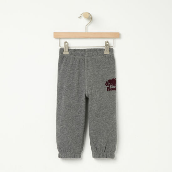 Roots-Sale Kids-Baby Original Sweatpant-Medium Grey Mix-A