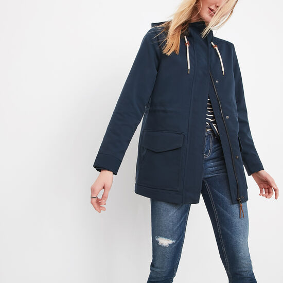 Roots-Women Jackets-Westport Tuff Jacket-Cascade Blue-A