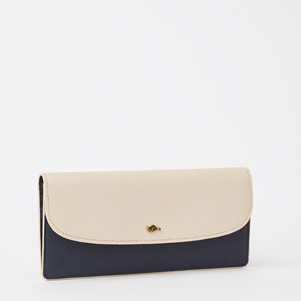 Roots-undefined-Slim Curve Wallet Saffiano-undefined-D