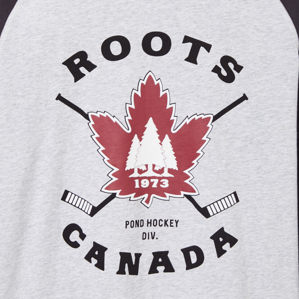 Roots-undefined-T-shirt Man Long Red Rock-undefined-C