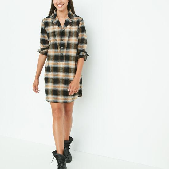 Roots - Sage Shirt Dress