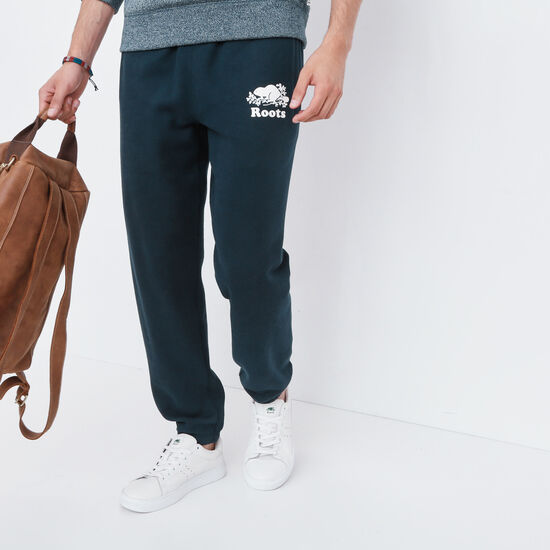 Roots-Men Original Sweatpants-Original Sweatpant-Navy Blazer-A