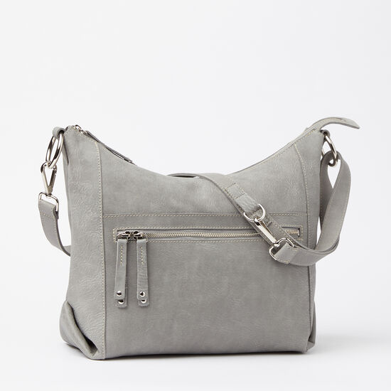 Roots-Leather Bestsellers-Sophia Bag Tribe-Quartz-A