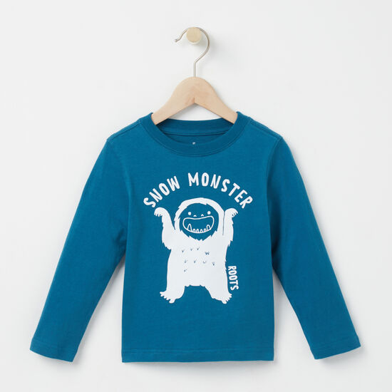 Toddler Snow Monster T-shirt