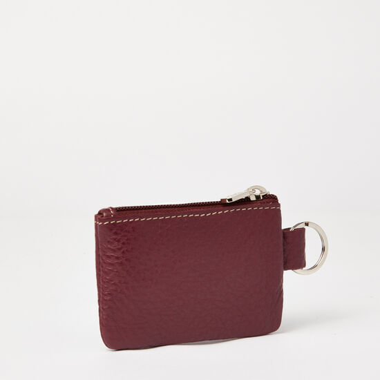 Roots - Top Zip Key Pouch Super Prince