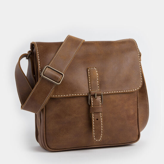 Roots-Leather Briefcases & Messengers-The Robson Tribe-Africa-A