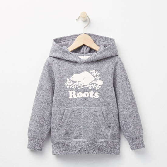 Roots - Toddler Roots Salt & Pepper Original Kanga Hoody