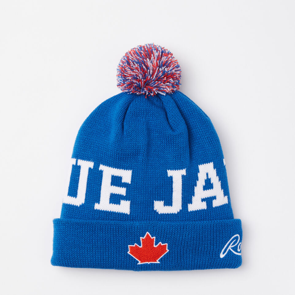 Roots-undefined-Blue Jays Pom Pom Toque-undefined-C