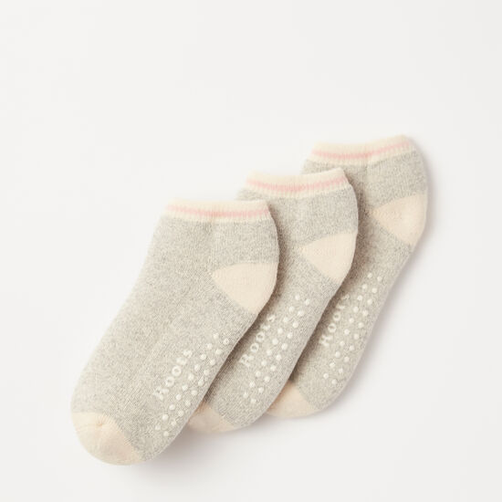 Roots-Kids New Arrivals-Toddler Classic Cabin Ped Sock-Grey Mix-A