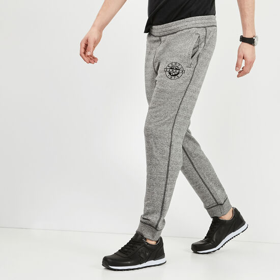 Roots-Men Slim Sweatpants-Tremblant Slim Sweatpant-Speckle-A