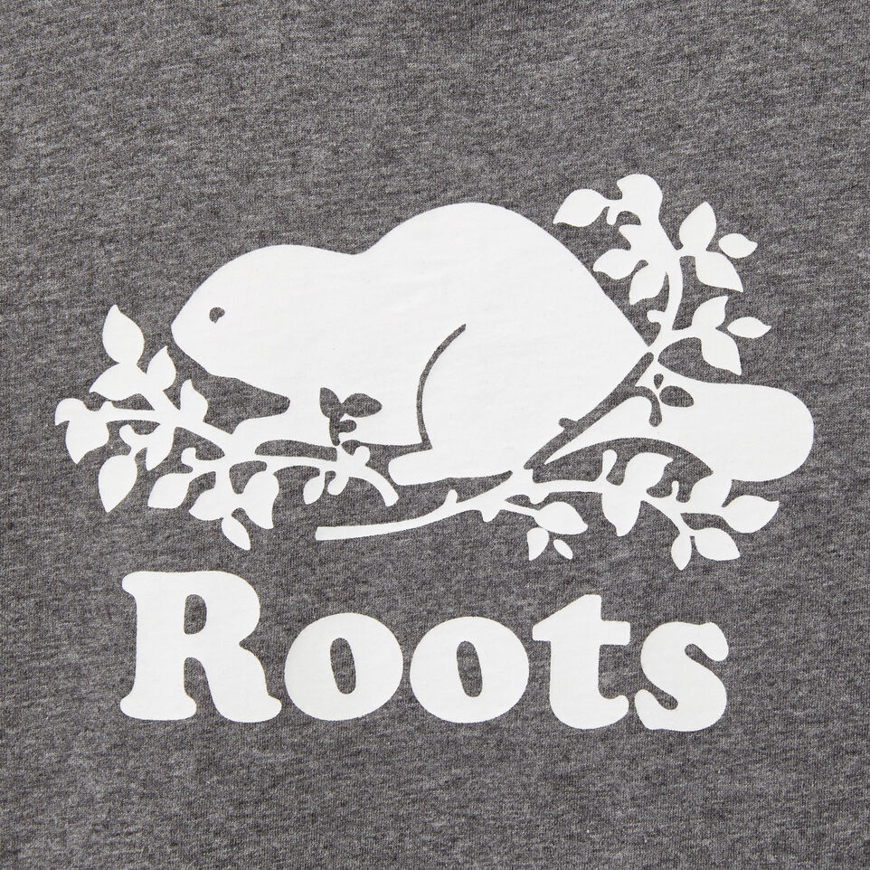 Roots-undefined-Garçons T-shirt Cooper Beaver Phosphorescent-undefined-C