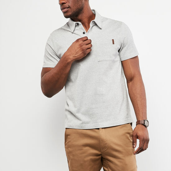 Cedar Striped Jersey Polo