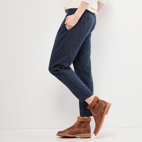 Roots-Women Pants-Nicole Pant-Cascade Blue-A