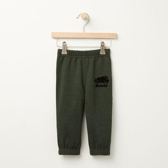 Roots-Sale Kids-Baby Pepper Original Sweatpant-Park Green Pepper-A