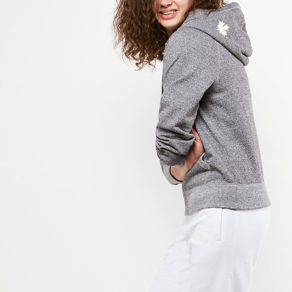 Roots-undefined-Womens Original Full Zip Hoody-undefined-B