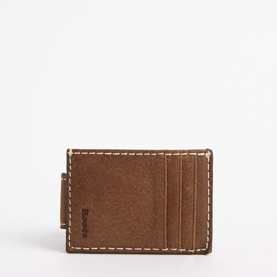 Roots-Men Wallets-Money Clip Card Holder Tribe-Africa-A