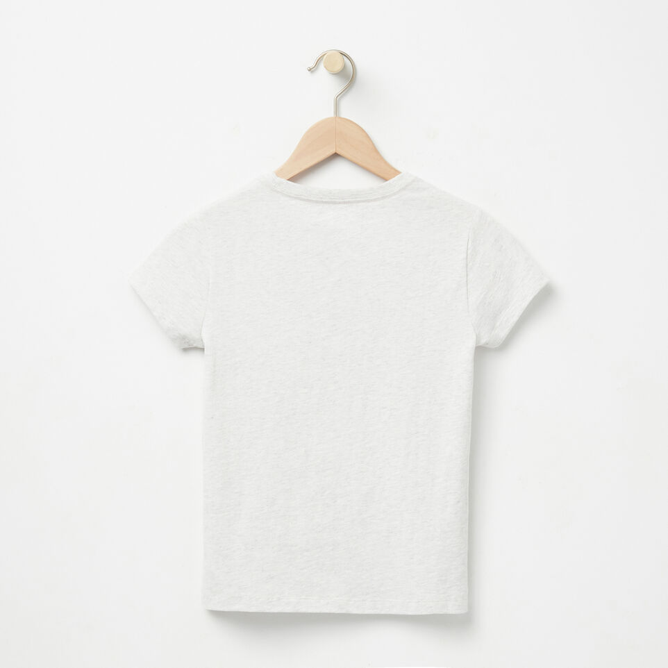 Roots-undefined-Filles T-shirt Cooper Beaver-undefined-B
