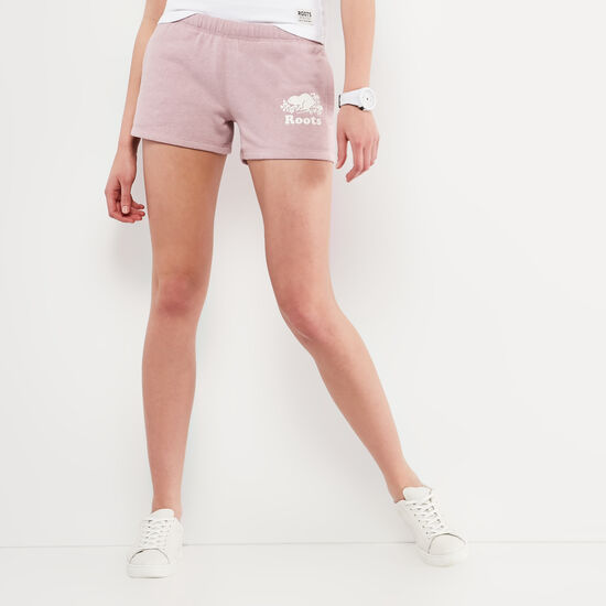 Roots-Women Shorts & Skirts-Original Sweatshort-Mauve Shadows Mix-A