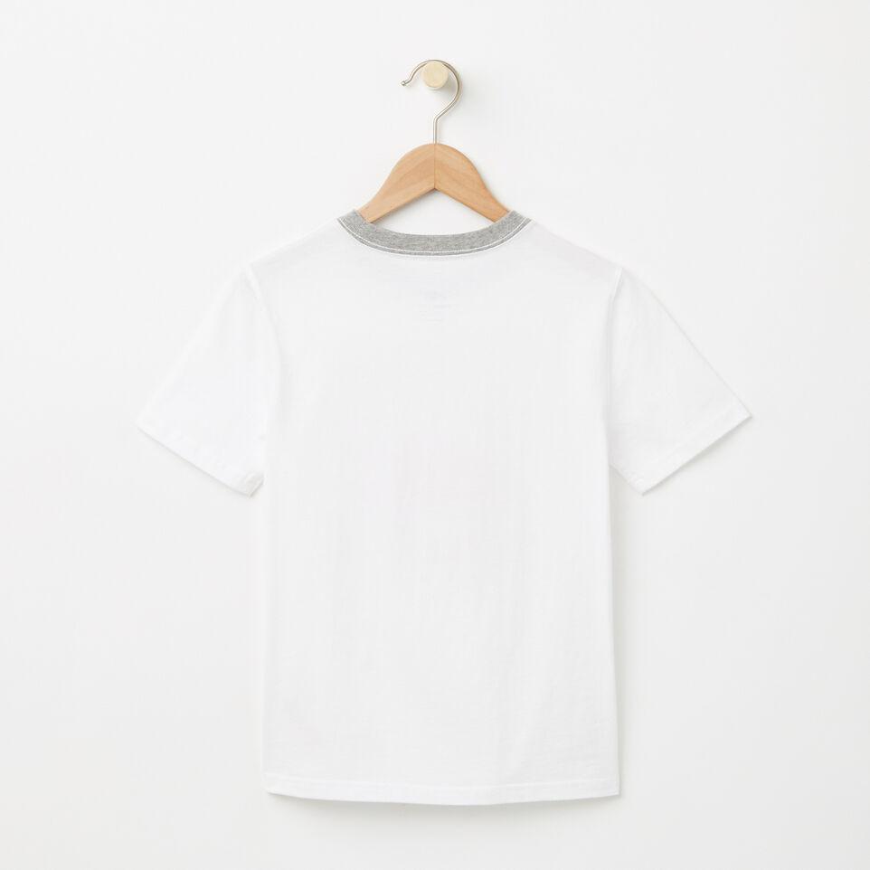 Roots-undefined-Garçons T-shirt RBA Phosphorescent-undefined-B