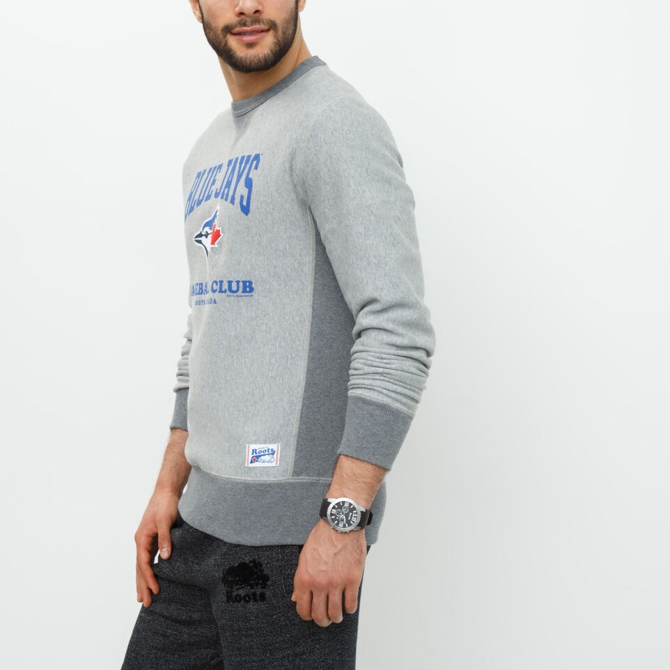 Roots-undefined-Blue Jays Club Contrast Crew-undefined-B