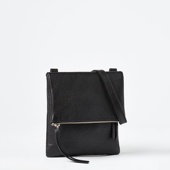 Roots-Women Mini Leather Handbags-Small Jessie Prince-Black-A