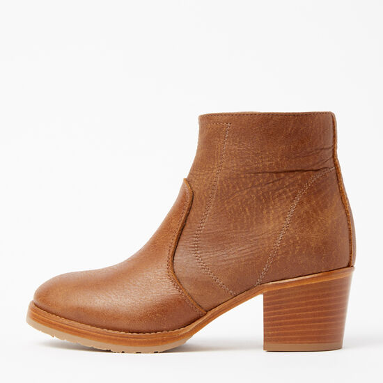 Roots-Shoes Boots-Italian Zip Bootie Tribe-Africa-A