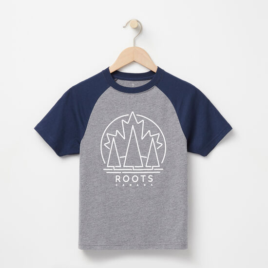 Roots-Kids New Arrivals-Boys Digby Raglan Top-Med Grey Mix-A