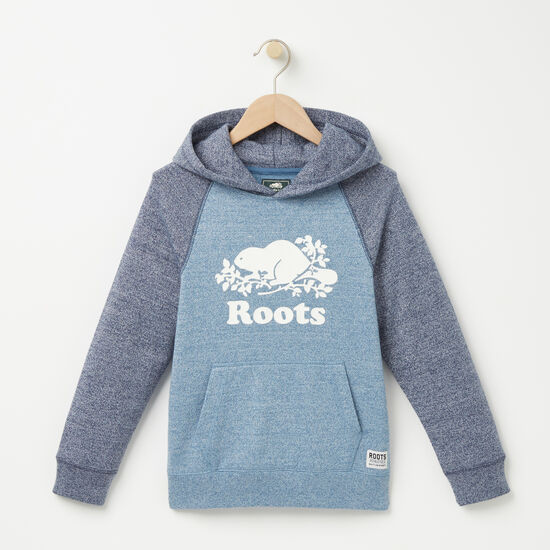 Roots-Kids Boys-Boys Pepper Contrast Kanga Hoody-Copen Blue Pepper-A