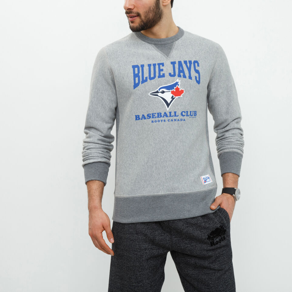 Roots-undefined-Blue Jays Club Contrast Crew-undefined-A