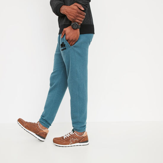 Roots-Men Slim Sweatpants-Slim Sweatpant-Deep Teal Blue Mix-A