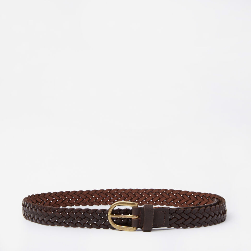 Roots-undefined-Womens Braided Belt-undefined-A