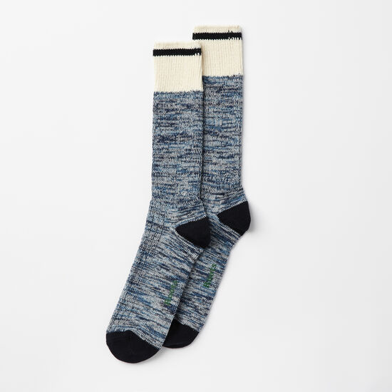 Roots-Men Socks-Mens Park Sock 2 Pack-Insignia Blue-A