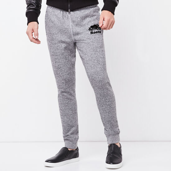 Roots-Men Slim Sweatpants-Roots Salt and Pepper Park Slim Sweatpant-Salt & Pepper-A