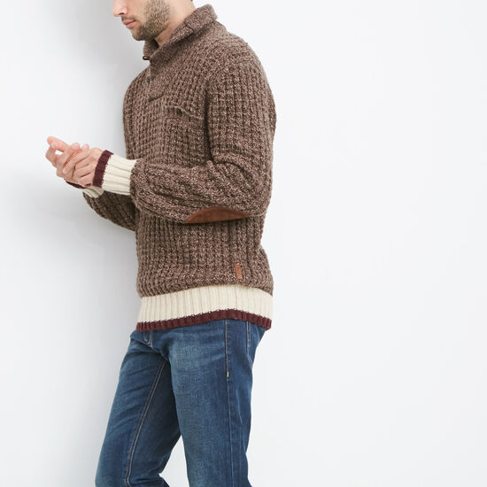 Roots Cabin Waffle Pullover