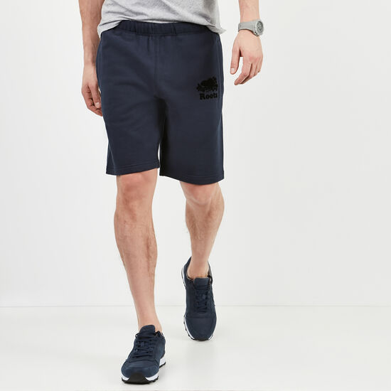 Roots-Men Shorts-Heritage Fleece Shorts-Navy Blazer-A
