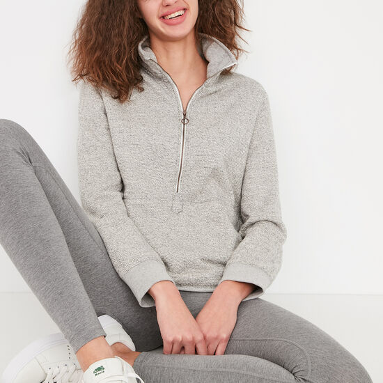 Roots-Women Sweats-Drift Stein-Salt & Pepper-A