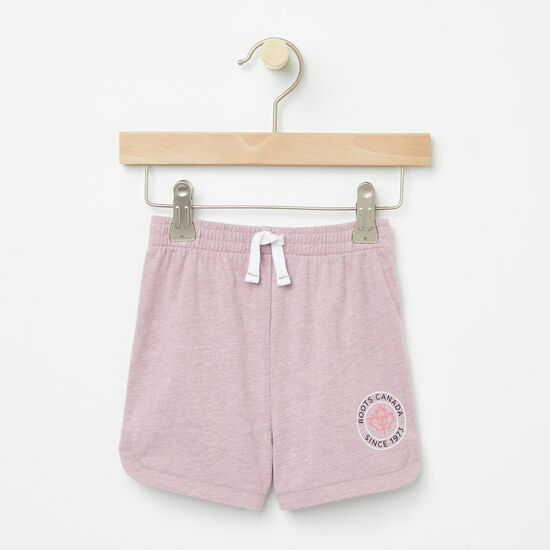 Roots-Kids New Arrivals-Baby Lucy Shorts-Mauve Shadows-A